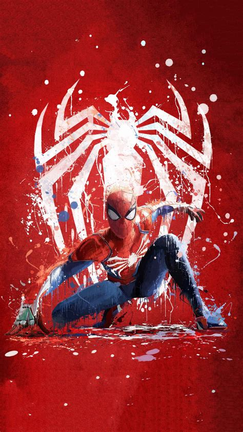 Spider-man background wallpapers for phone   WallpaperiZe