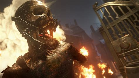 Call of Duty WWII Zombies Mode Detailed; Multiple Zombie