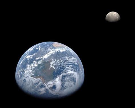 Earth and Moon from MESSENGER | A montage of the Earth and