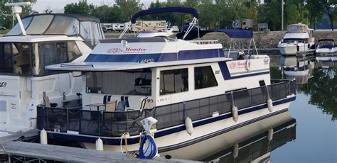 1989 Gibson 44 Classic House Boat for sale - YachtWorld