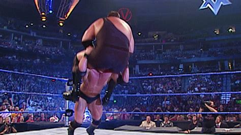 Brock Lesnar gives Big Show a running powerbomb: Vengeance